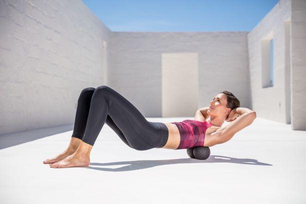 BLACKROLL DUOBALL masaż pleców ból kręgosłupa
