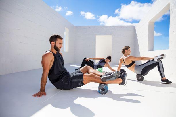 rolowanie i aktywność fizyczna w grupie