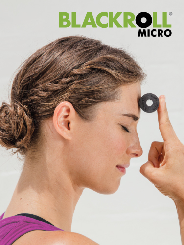 BLACKROLL MICRO rolka masaż tarzy